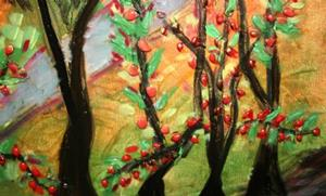 Detail Image for art FALL -APPLES VALLEY