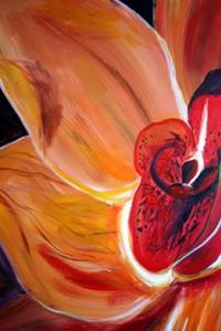 Detail Image for art THE ORANGE FLOWER