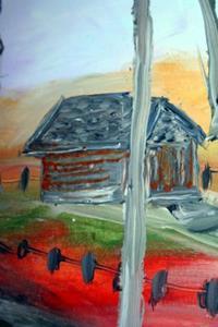 Detail Image for art AUTUMN LANDSCAPE-sold