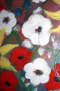 Detail Image for art MY GARDEN IN THE RAIN