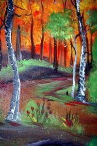Detail Image for art ARBORETUM-AUTUMN-sold