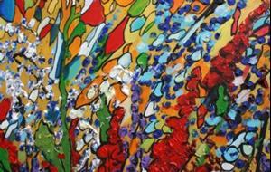 Detail Image for art WHISPERING GARDEN