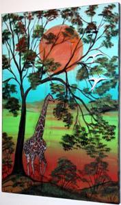 Detail Image for art AFRICAN WILDLIFE-GIRAFFE