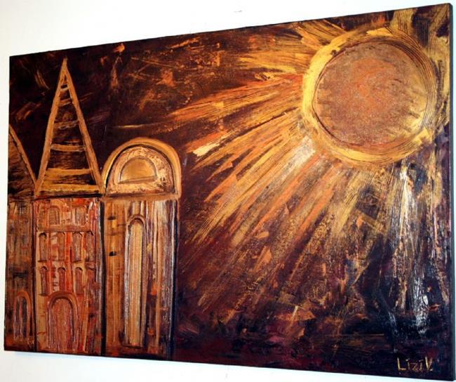 Art: STAIRWAY TO HEAVEN-for DEBBIE by Artist LUIZA VIZOLI