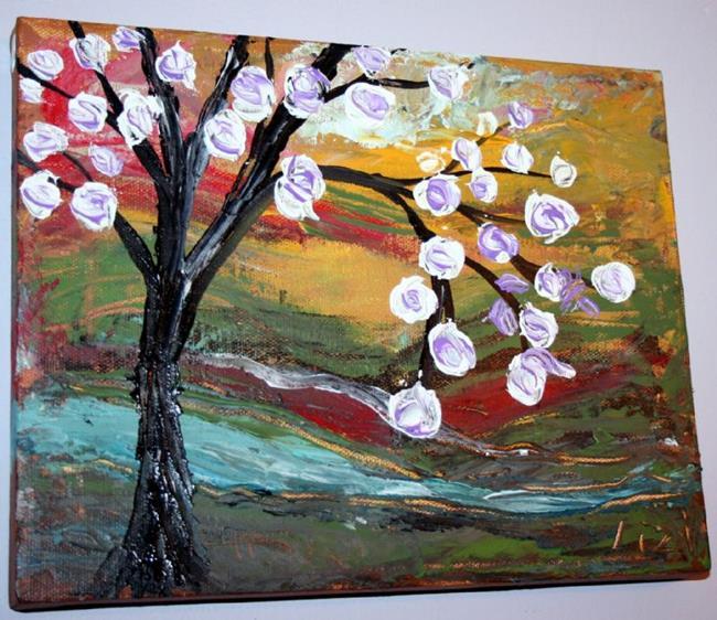 Art: Magnolia by Artist LUIZA VIZOLI