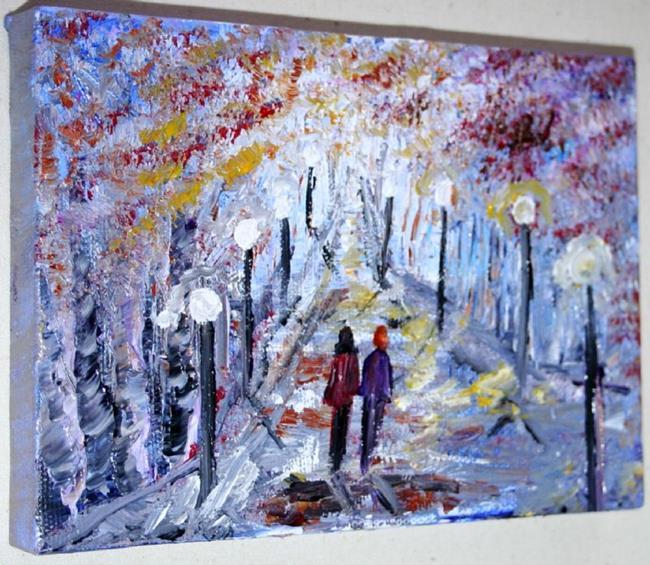 Art: ALMOST WINTER by Artist LUIZA VIZOLI