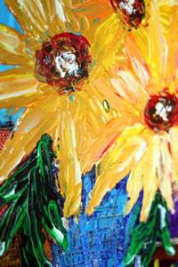 Detail Image for art SUNFLOWERS