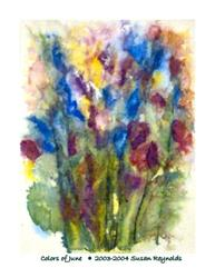 Art: Colors of June by Artist Susan Reynolds