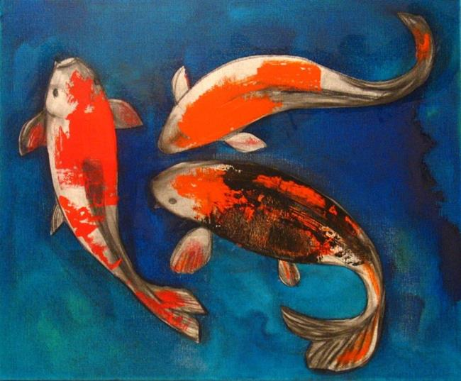 Play by aisyah ang from all art galleries search for Playing koi