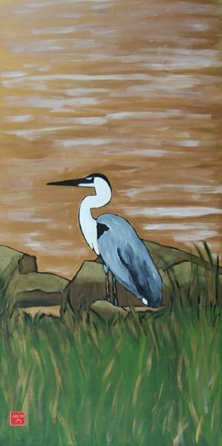 Art: shorebird by Artist Amie R Gillingham