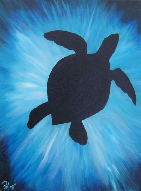 Art: Sea Turtle by Artist Padgett Mason