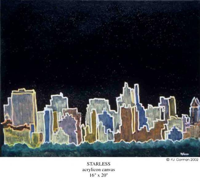 Art: Starless by Artist PJ Gorman