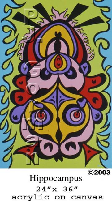 Art: Hippocampus by Artist PJ Gorman