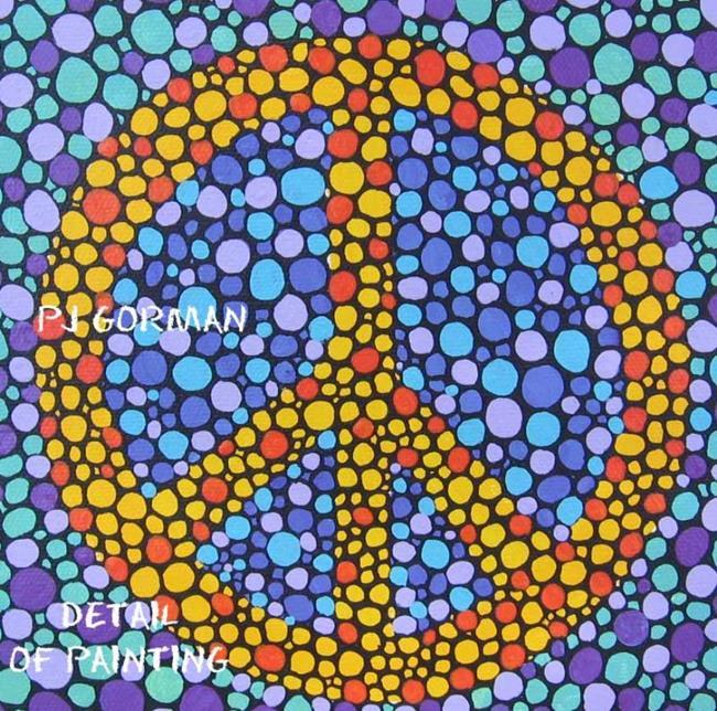 Art: Peace (sold) by Artist PJ Gorman