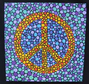 Detail Image for art Peace (sold)