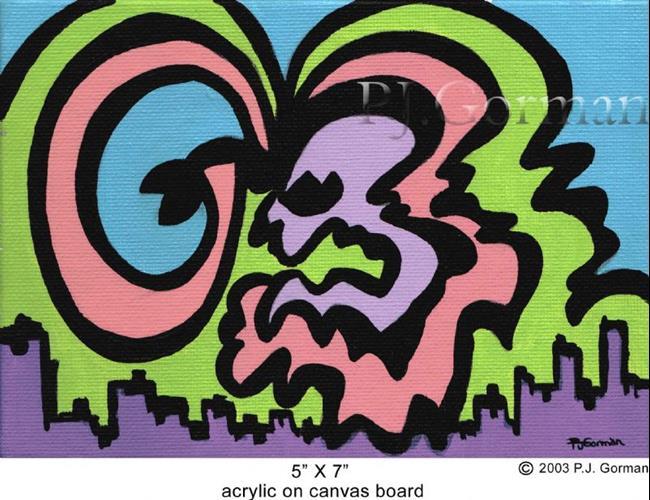 Art: Ruckus (sold) by Artist PJ Gorman