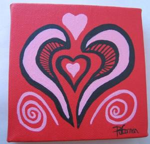 Detail Image for art Heart 2 Heart (sold)