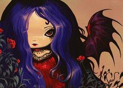 Art: Red Roses by Artist Nico Niemi
