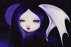 Art: Dark Moon by Artist Nico Niemi