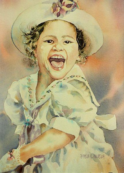 Art: Madeline Sunday by Artist Pamela K Wilhelm