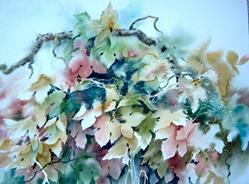 Art: Leaves by Artist Pamela K Wilhelm