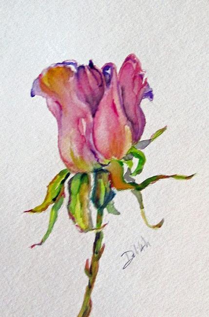 Art: Delilah Rose by Artist Delilah Smith