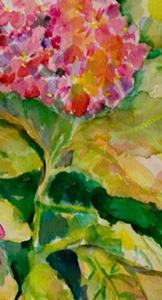 Detail Image for art Hydrangea-sold