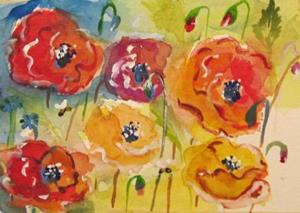 Detail Image for art Poppies No.4