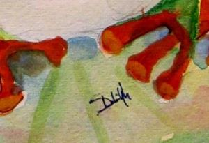 Detail Image for art Lily Pad Frog