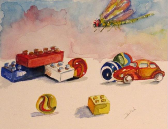 Art: Toys by Artist Delilah Smith