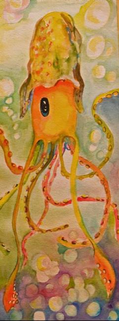 Art: Squid- sold by Artist Delilah Smith