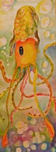 Detail Image for art Squid- sold