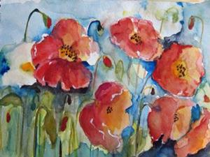 Detail Image for art Poppies No. 3