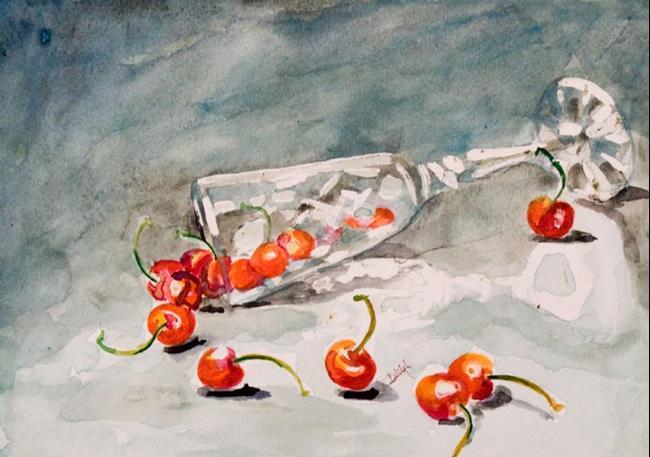 Art: Cherry Wine by Artist Delilah Smith
