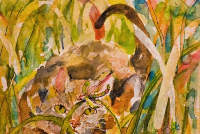 Art: Stalker by Artist Delilah Smith