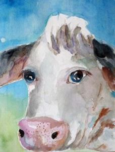 Detail Image for art Big Eyed Cow