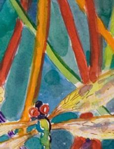 Detail Image for art Dragonflies