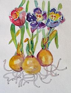 Detail Image for art Spring Crocus No.2