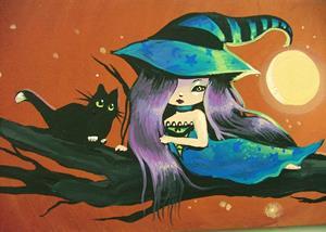 Detail Image for art Full Moon