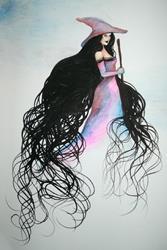 Art: Witch by Artist Nico Niemi