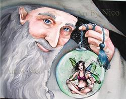 Art: Ornamental Fairy by Artist Nico Niemi