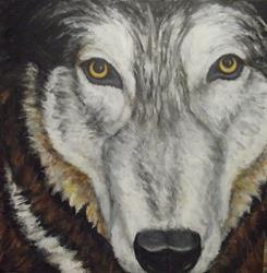 Art: THOR by Artist Virginia Ann Zuelsdorf