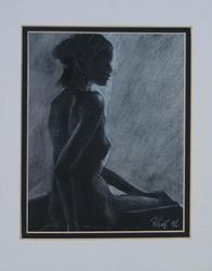 Art: Figure study  by Artist Padgett Mason