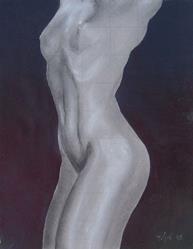 Art: Torso study by Artist Padgett Mason