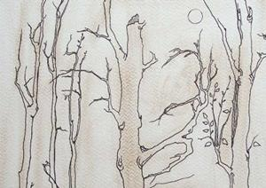 Detail Image for art tree study #4