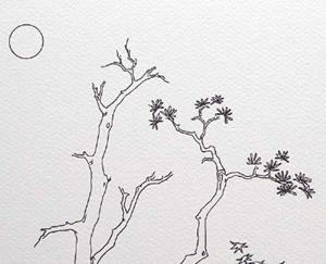 Detail Image for art tree study #1