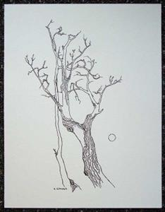 Detail Image for art tree study #6