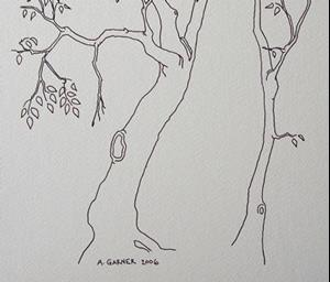 Detail Image for art tree study #11