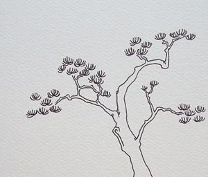Detail Image for art tree study #12