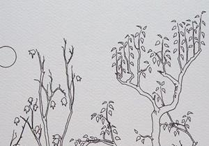 Detail Image for art tree study #13